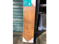 Mdf 1700mm bath panel with 150mm plinth brand new antique pine finish