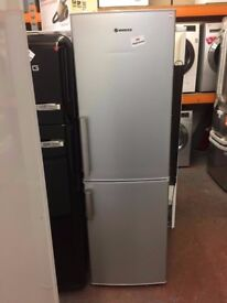 HOOVER SILVER FRIDGE FREEZER RECONDITIONED
