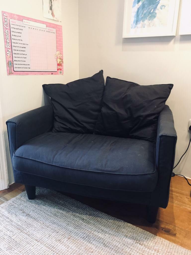 Wondrous Reduced To 70 Black Ikea Harnosand Armchair Very Comfy In Camden London Gumtree Interior Design Ideas Jittwwsoteloinfo