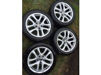 VW scirocco alloys genuine 2011 donnington alloy 17 inch by Ronal