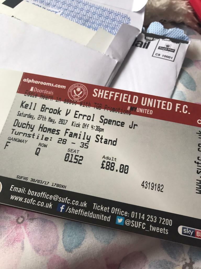 Brook Spence Tickets