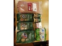 selling a bunch of wild bird food as i have way too much