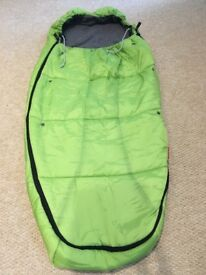 Phil & Teds Snuggle & Snooze Sleeping bag/footmuff includes own bag