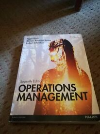 Operations Management 7th Edition (Pearson) Business Textbook for Sale