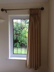 Curtain poles + Curtains