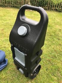 Waste Hog 46l waste water container, nearly new with bag