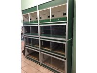 Large Animal Cage Unit Perfect For Retail Or Breeders