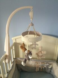 Mamas & Papas Loved So Much musical cot mobile