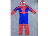 SpiderMan Costume Age 7