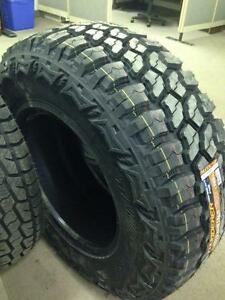 265-70-R17 LT THUNDERER MUD CLAWER TRAC GRIP R408 MUD TIRES