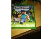 minecraft xbox1 game never used