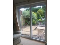 Patio Doors (Sliding) - White PVC - W 1860 x H 2125 - Good Condition