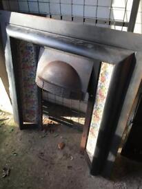 Vintage Fireplace - Can Deliver