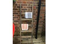 Old wood ladder for display purposes