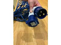 Extension Lead 16A 230V 14m with adaptor