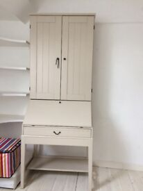 Ikea desk & bookcase combination