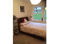 A well furnished double bed room