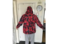Shadow Mens Printed Ski Jacket