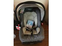 Brand new graco car seat with base
