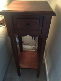 Side telephone table