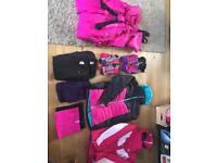 Girls Age 14 Skiwear Set