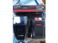 Parkside 20v battery and charger