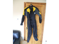 Frank Thomas motorcycle one piece waterproof suit (jacket trousers) - Ladies / womens medium size