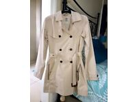 Ladies Timberland Trench Coat Size Small never worn! £60