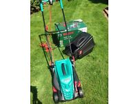 Bosch Rotak 370 ER electric lawn mower – never used