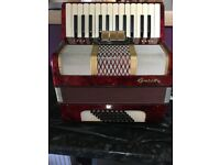 Galotta 48 bass accordion (ONO)