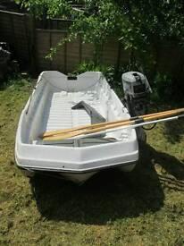 A family fishing boat