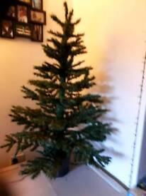 1.5m basket Christmas tree