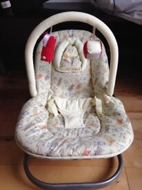 Baby chair with adjustable positions