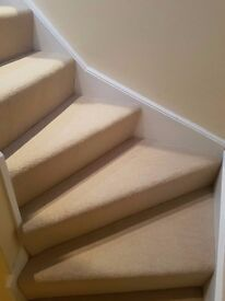 Herts Carpets – Hall, Stairs and Landing from £120 fitted in heavy duty domestic carpet