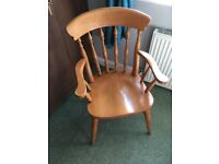 Old wooden chair for sale ideal for shabby seek!