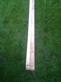 Planed timber 60mm x 12mm x 5.1mlong . Very straight
