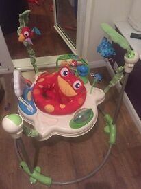 Fisher price jungle rainforest activities gym