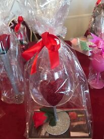 Glitter Glasses and gift boxes