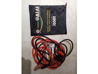 jump leads only used once for £70, RRP £87.99