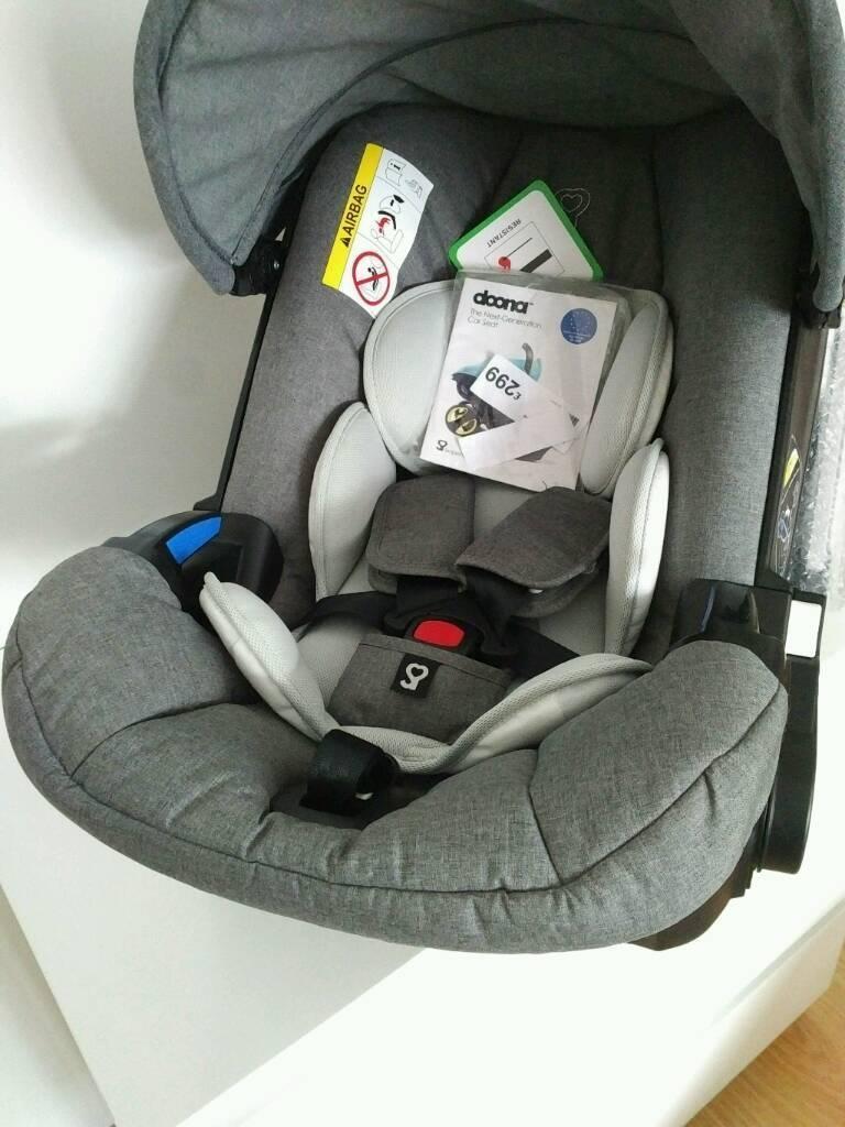 NEW Doona Car Seat Stroller RRP £300