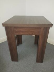 2 x Small Brown Tables
