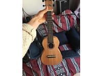 Semi acoustic ukulele