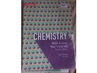 AQA Chemistry A Level year 1 and AS student book