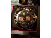 Ferrari watch men's gold