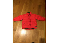 Children's Winter Coat Red (ages 3-4) Baby Gap