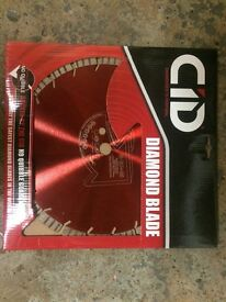 Diamond tipped cutting blades 12''