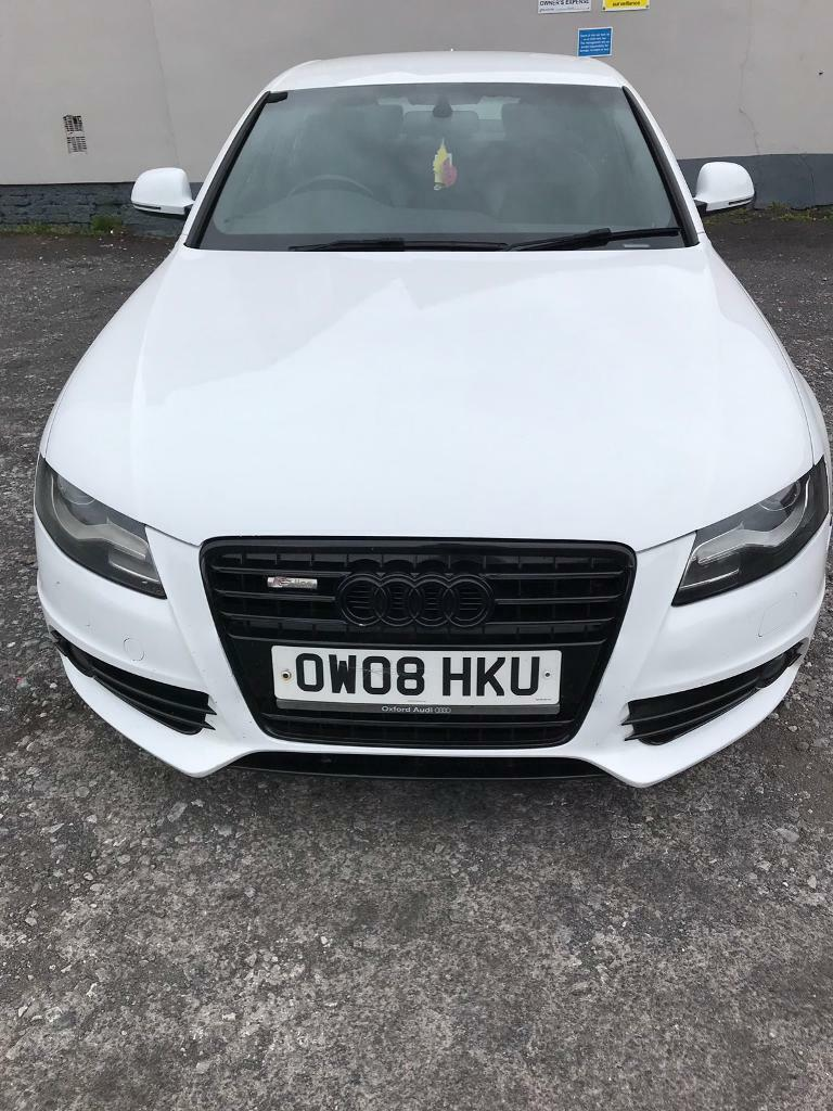 Audi A4 S Line Saloon 2 0 Tdi Manual 2008 In Oldham Manchester Gumtree