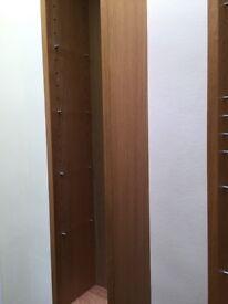 Two IKEA BILLY BOXS