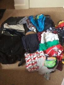 Huge bundle of boys clothes age 10 - 11 years