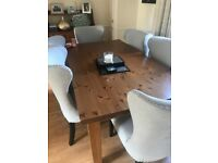 Dining room table only no chairs